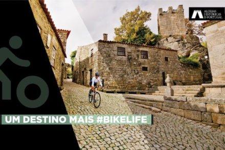Percursos cicláveis © Rede das Aldeias Históricas de Portugal