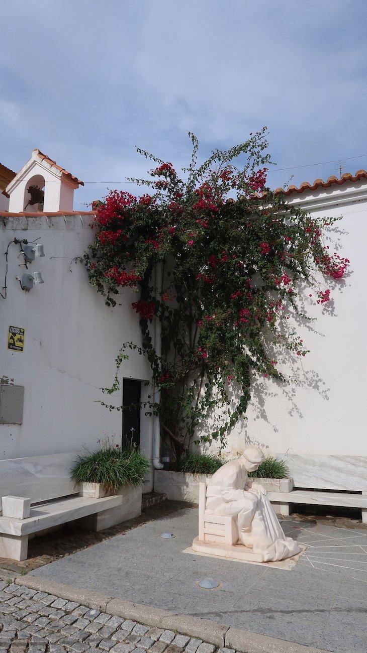 Estátua do Pescador - Alcoutim - Algarve - Portugal © Viaje Comigo