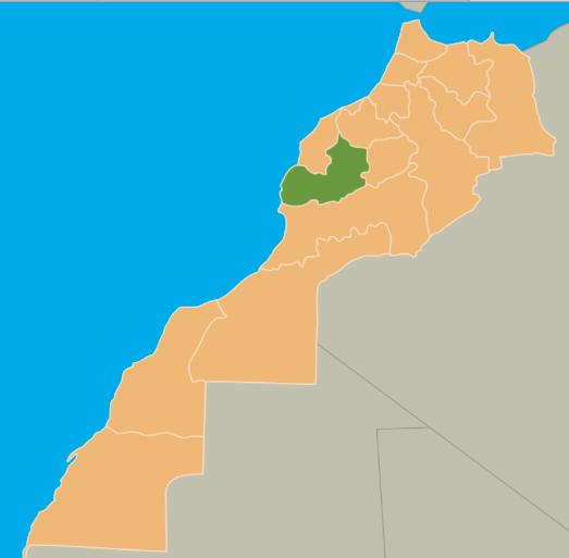 Mapa Marraquexe © wikipedia