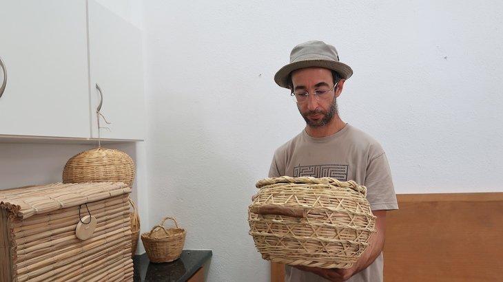 Um dos novos aprendizes da cana: Martinho - Alcoutim - Algarve - Portugal © Viaje Comigo