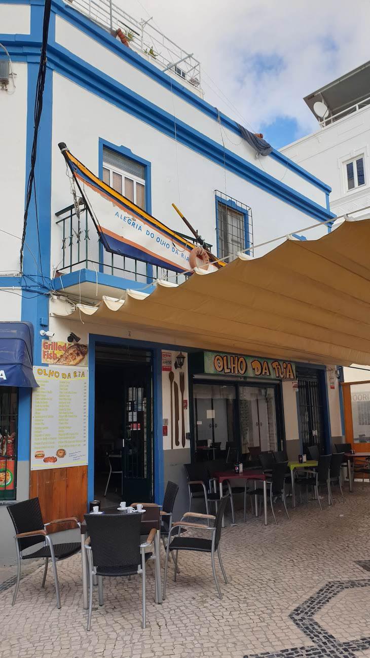 Olho da Ria - Restaurante Olhão - Algarve © Viaje Comigo