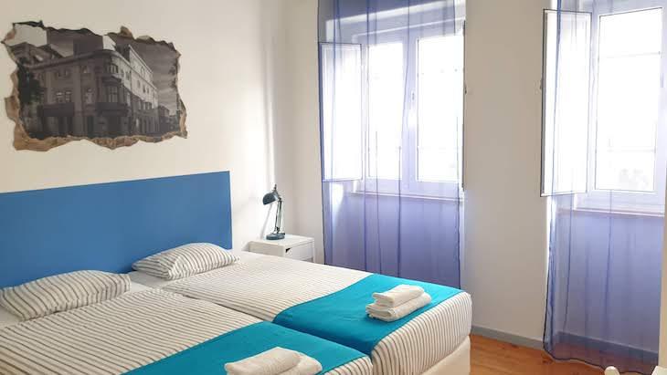 Quarto do Loulé Coreto Hostel - Loulé - Algarve © Viaje Comigo