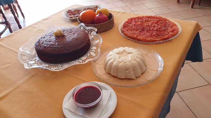 Sobremesas no Restaurante Rosmaninho - Loulé - Algarve © Viaje Comigo