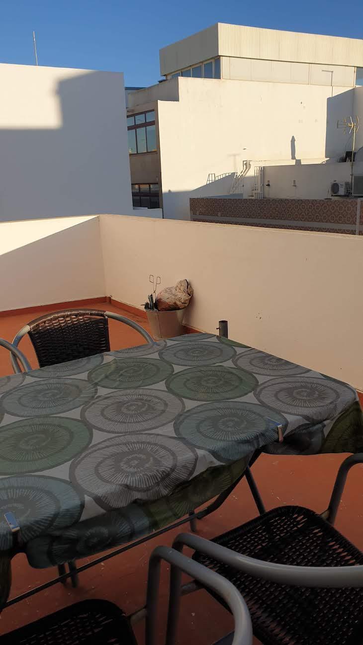 Terraço da Maison Citron - Olhão - Algarve © Viaje Comigo
