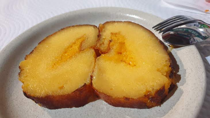 Torta de laranja- restaurante Dom Rodrigo-Castro Marim - Algarve -Portugal © Viaje Comigo
