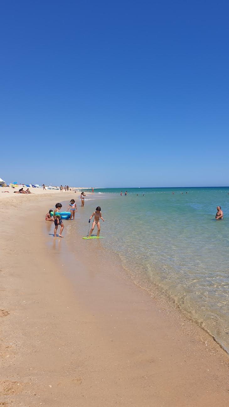 Praia da Ilha do Farol - Algarve © Viaje Comigo