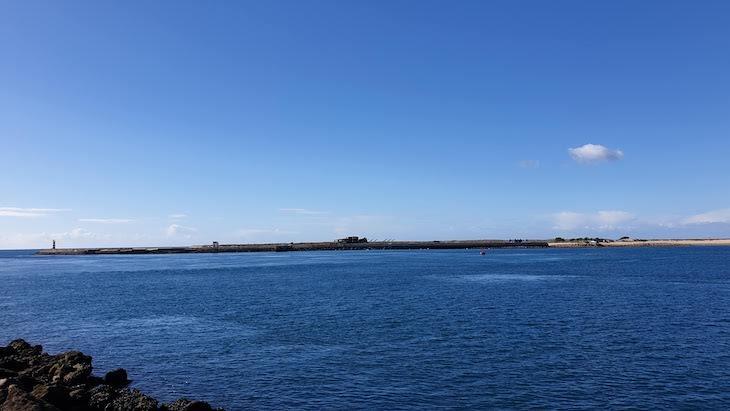 Vista para a Ilha da Barreta - da Ilha do Farol - Algarve © Viaje Comigo