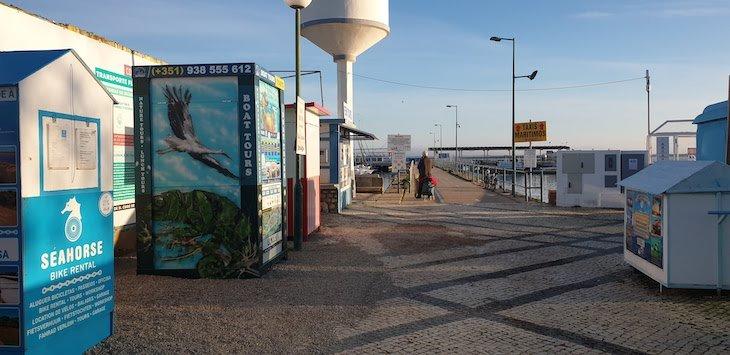 Entrada porto (barcos) de Olhão - Algarve © Viaje Comigo