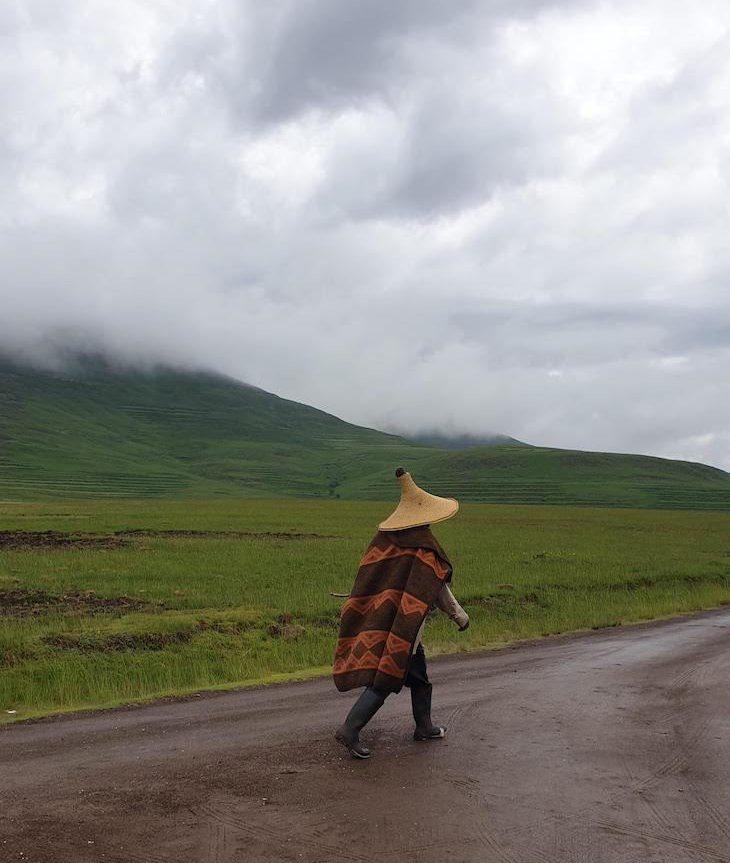 Habitante do Lesoto © Viaje Comigo
