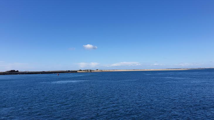 Ilha Deserta - Faro - Algarve - Portugal © Viaje Comigo