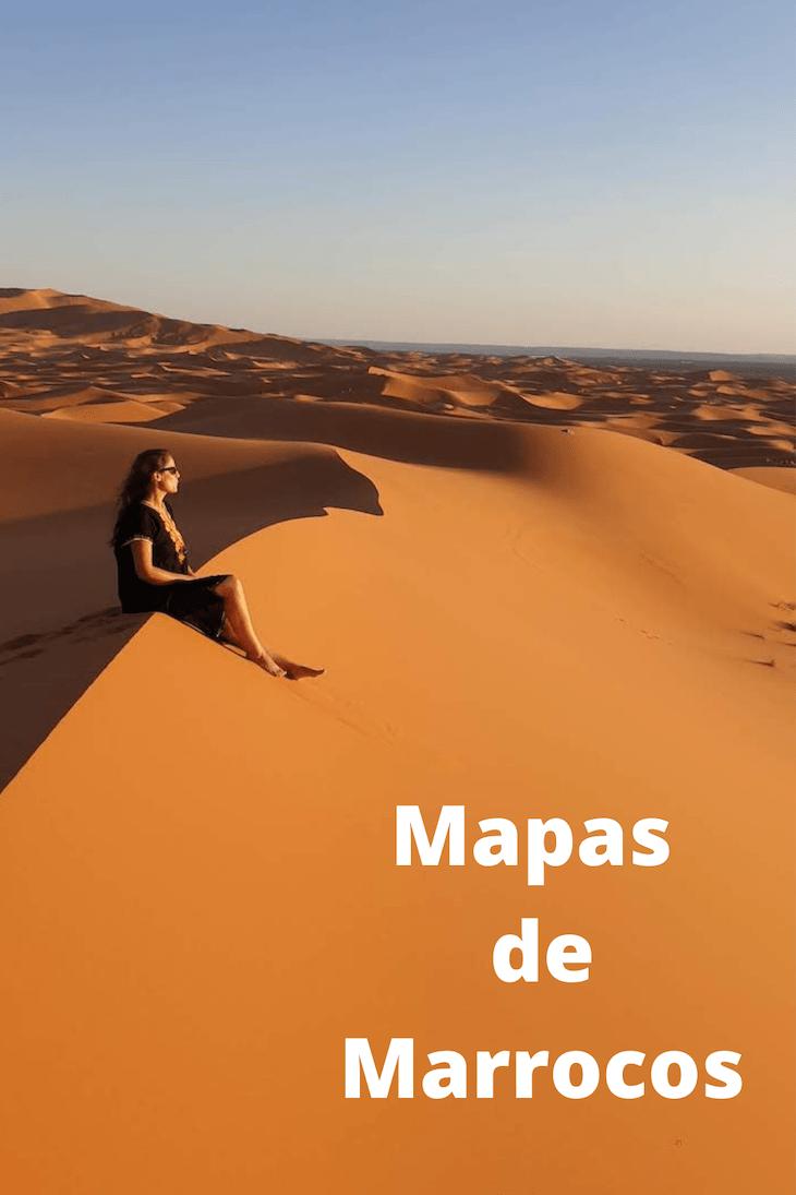 Mapas de Marrocos © Viaje Comigo