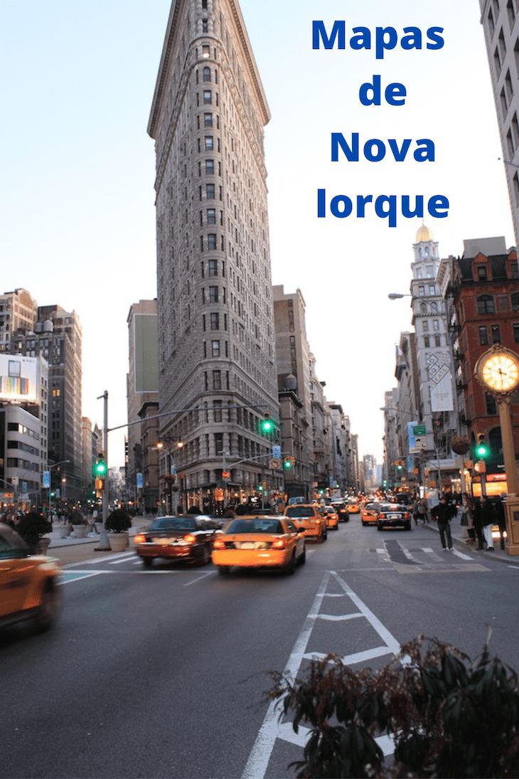Mapas de Nova Iorque © Viaje Comigo