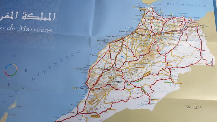 Mapas de Marrocos
