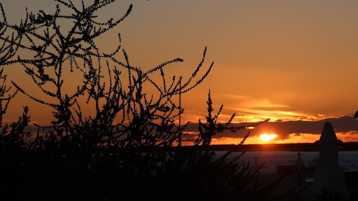 Pôr do Sol Ilha do Farol - Faro - Algarve - Portugal © Viaje Comigo