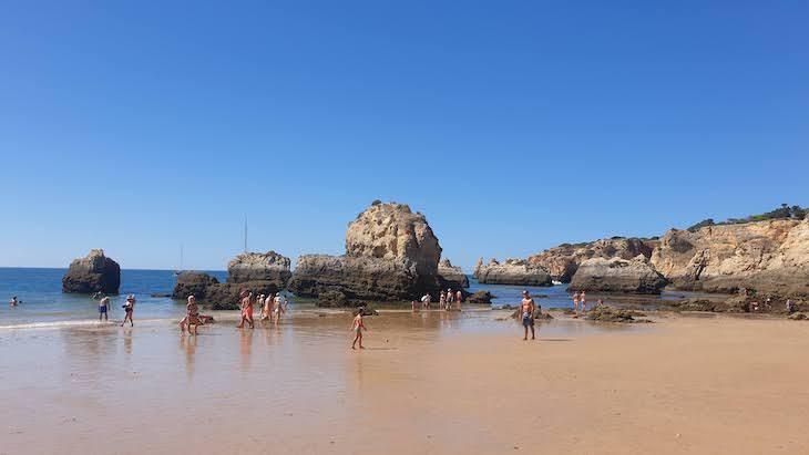 Praia do Alemão - Portimão - Algarve © Viaje Comigo