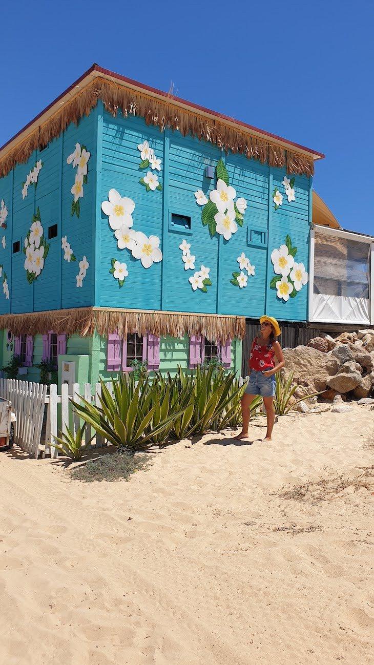 Na Praia da Ilha do Farol - Algarve © Viaje Comigo