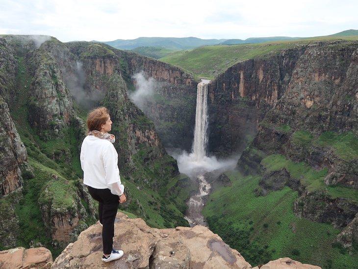 Queda de Água Maletsunyane (Waterfall) - Lesoto © Viaje Comigo