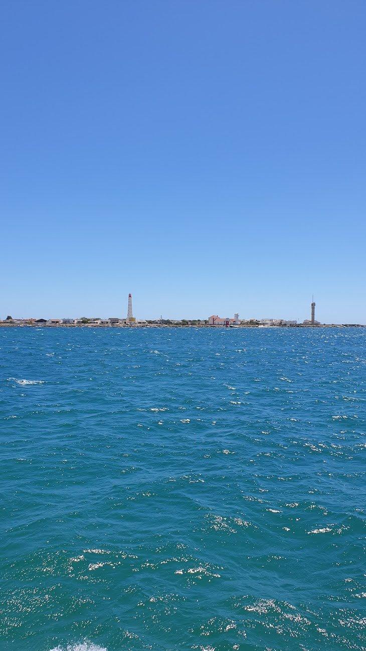 Viagem de barco para a Ilha do Farol - Algarve © Viaje Comigo