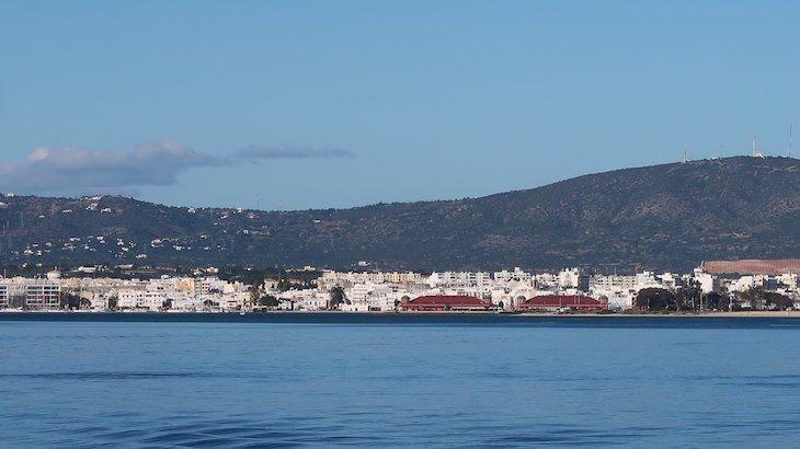 Vista para Olhão, da Ilha da Culatra - Algarve - Portugal © Viaje Comigo
