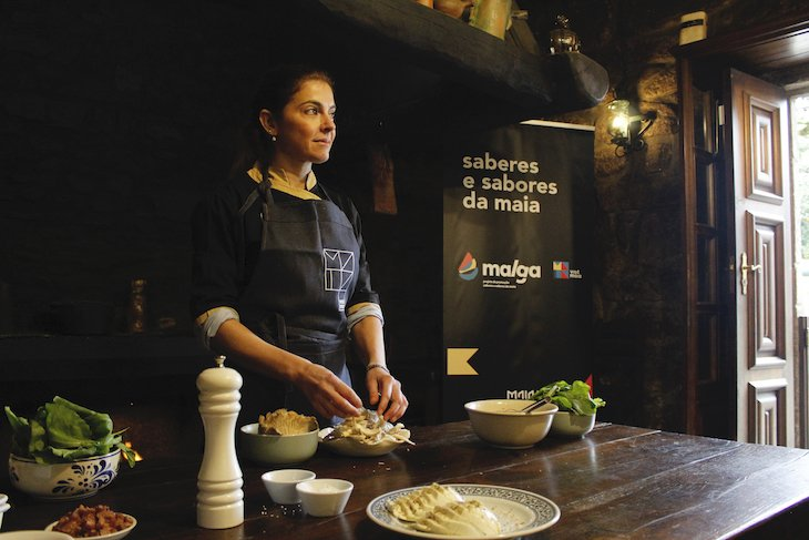 Chef Lígia Santos - Momento Malga - Câmara da Maia ©