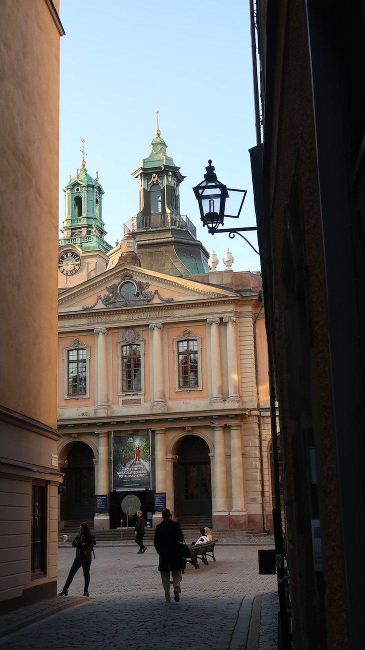 Museu do Nobel - Estocolmo - Suécia © Viaje Comigo
