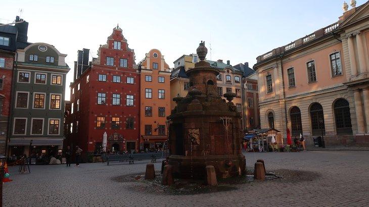 Stortoget, Gamla Stan, Estocolmo - Suécia © Viaje Comigo