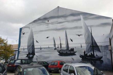 Arte urbana - Olhão - Algarve © Viaje Comigo