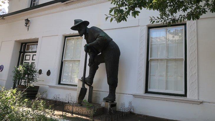 Arte em Stellenbosch - África do Sul © Viaje Comigo
