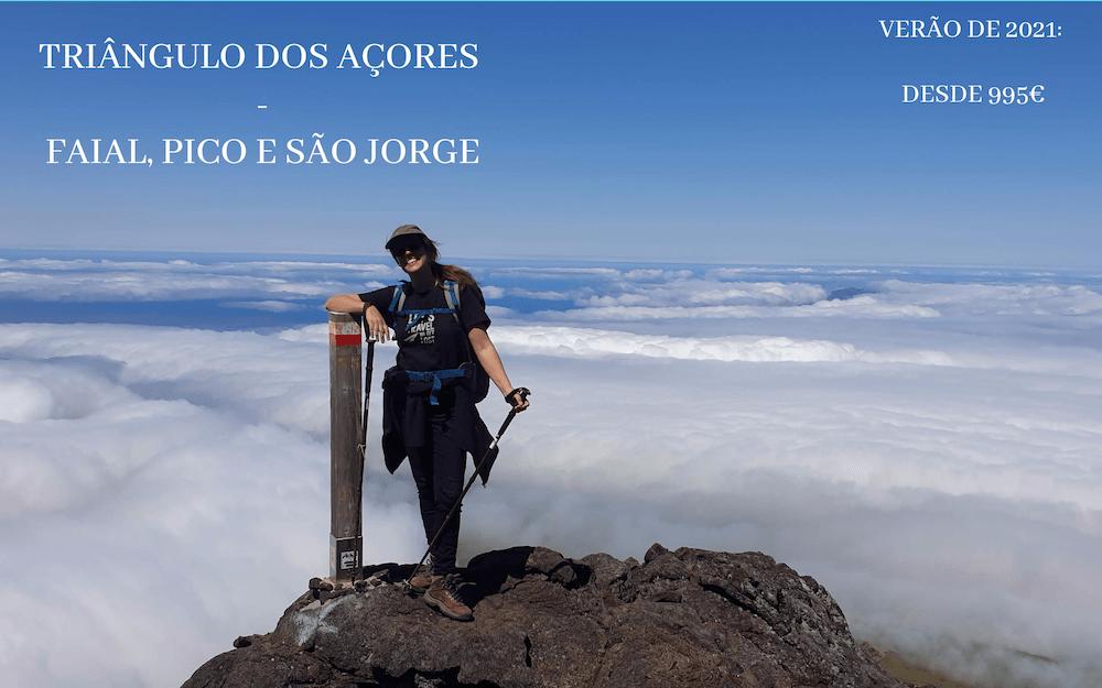 Mulheres em Viagem - Triângulo dos Açores - Tours Verão 2021