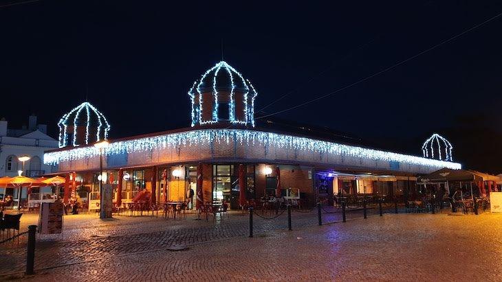 Decoração de Natal no Mercado de Olhão - Algarve © Viaje Comigo