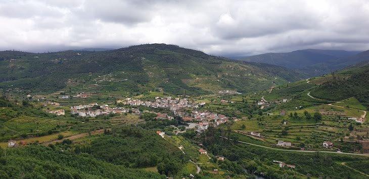 Vista panorâmica sobre Avô - Oliveira do Hospital © Viaje Comigo