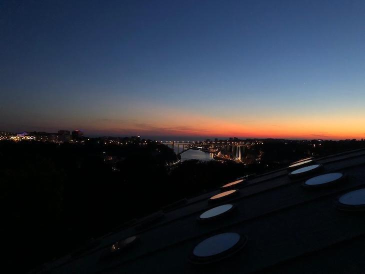 Pôr do sol, visto do Palácio de Cristal - Porto © Viaje Comigo