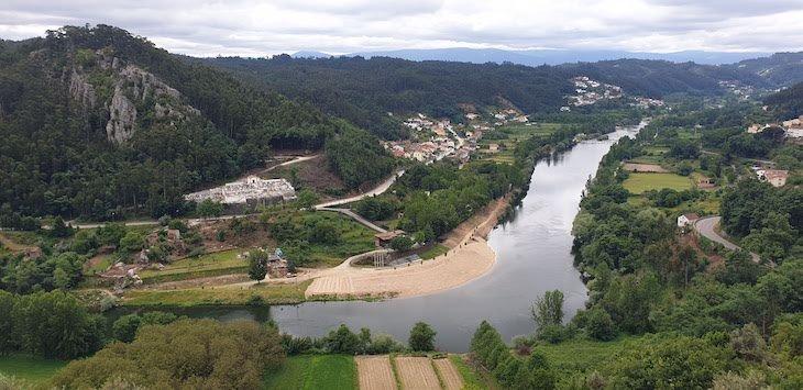 Praia do Reconquinho e rio Mondego - Penacova © Viaje Comigo