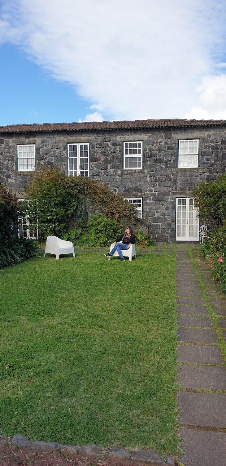Susana Ribeiro na Quinta das Buganvílias - Faial - Açores © Viaje Comigo