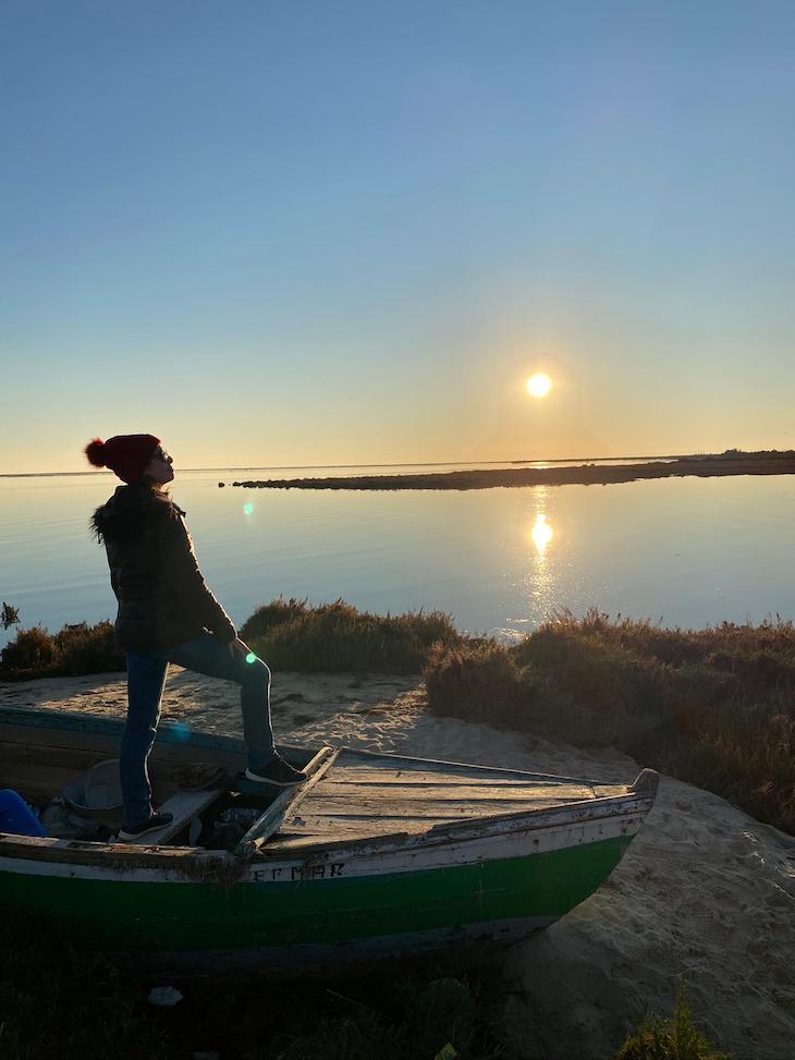 Na Ria Formosa - Olhão - Algarve © Viaje Comigo