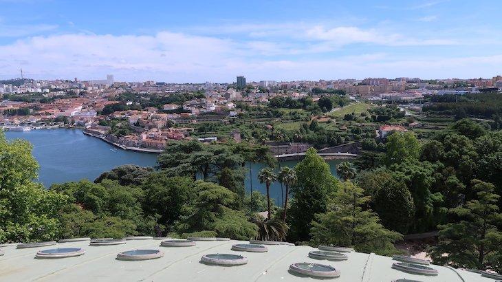 Vista para Vila Nova de Gaia - Porto 360 - Palácio de Cristal - Porto © Viaje Comigo