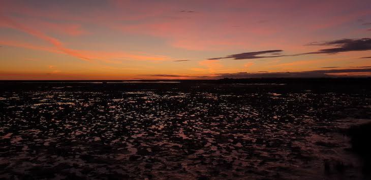 Pôr-do-sol na Ria Formosa - Olhão - Algarve © Viaje Comigo