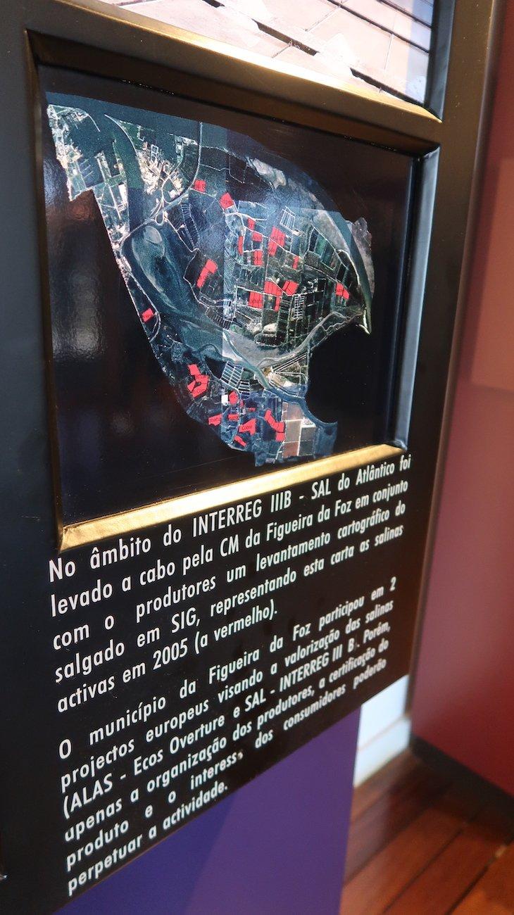 Mapa de salinas ativas - salinas da Figueira da Foz © Viaje Comigo