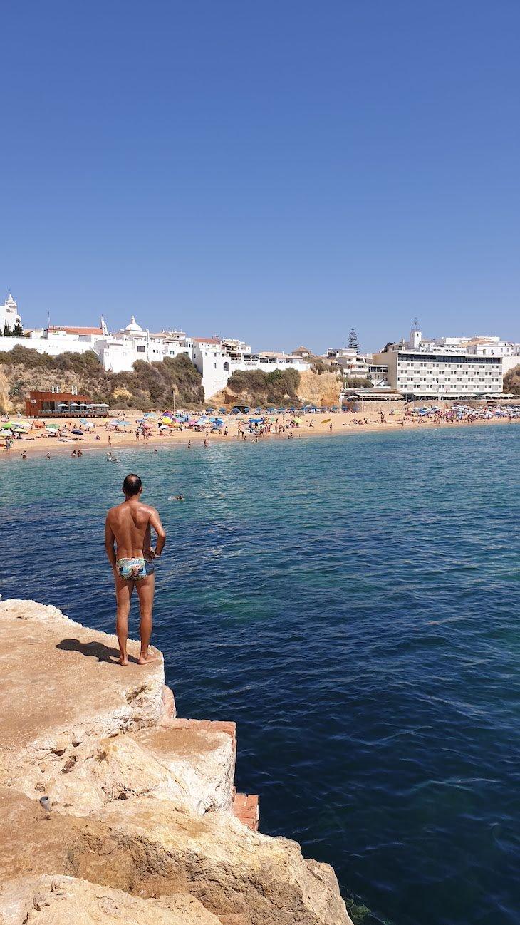 Praias de Albufeira - Algarve © Viaje Comigo