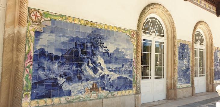 Painel de azulejos do Adamastor - Bussaco Palace - Portugal © Viaje Comigo