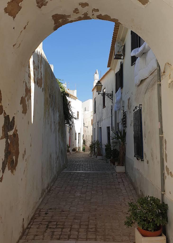 Centro histórico de Albufeira - Algarve © Viaje Comigo