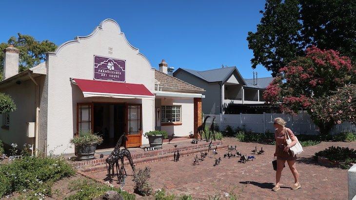 Art House em Franschhoek - África do Sul © Viaje Comigo