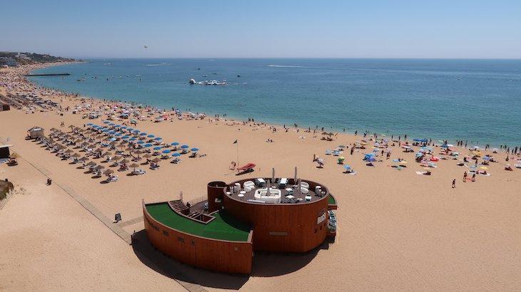 Praia dos Pescadores e do Peneco, Albufeira - Algarve © Viaje Comigo
