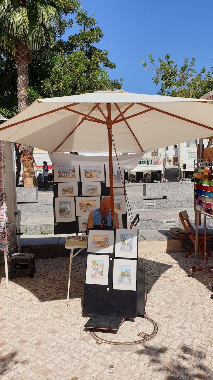 Caricaturas em Albufeira - Algarve © Viaje Comigo