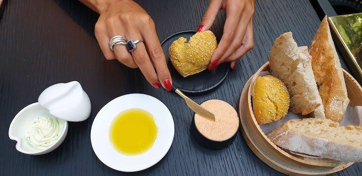 Couvert Restaurante Blind - Torel Palace Porto © Viaje Comigo