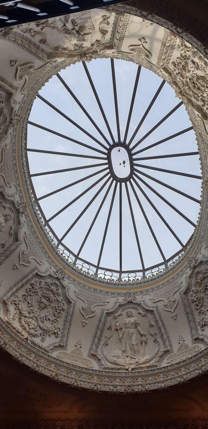 Cúpula do Torel Palace Porto - Porto - Portugal © Viaje Comigo