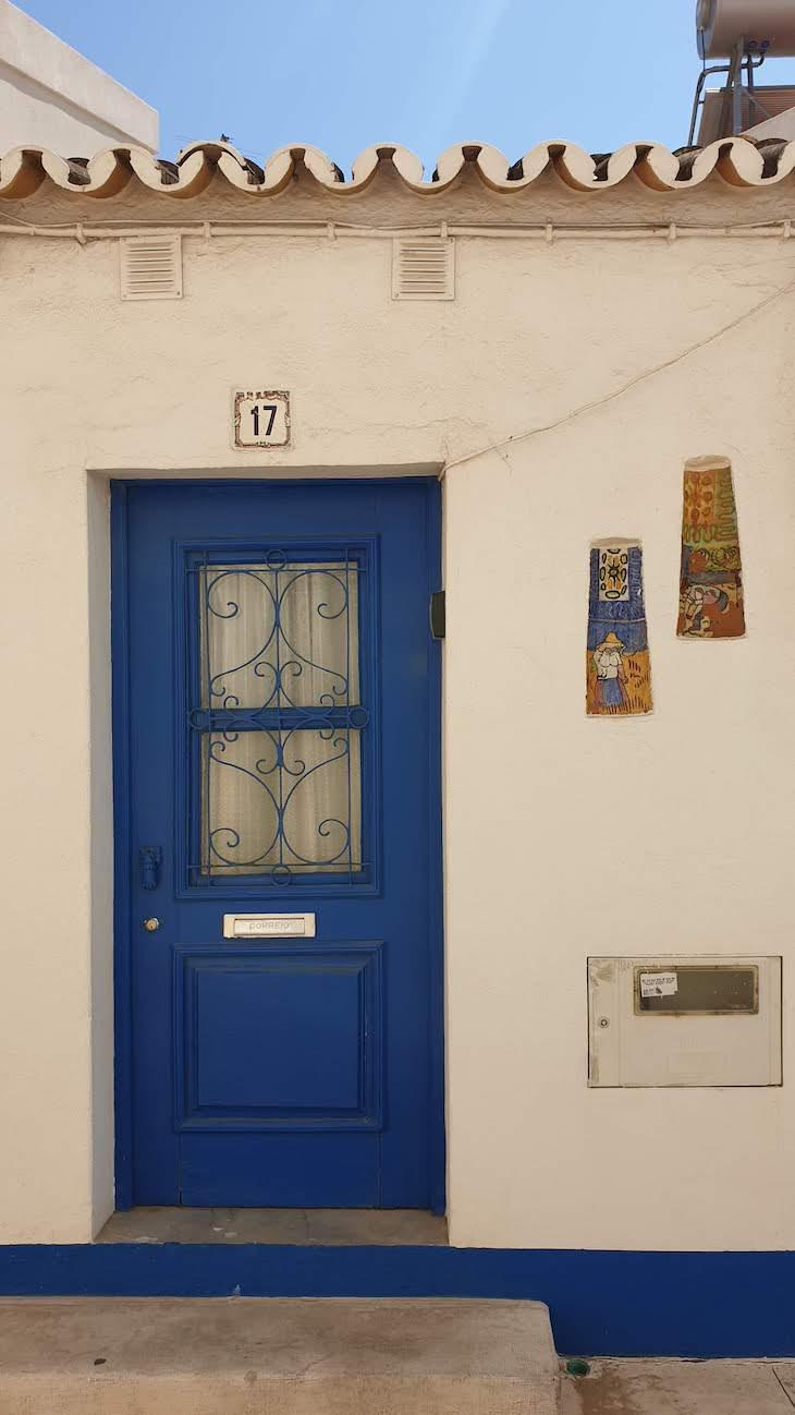 Casas do Centro histórico de Albufeira - Algarve © Viaje Comigo