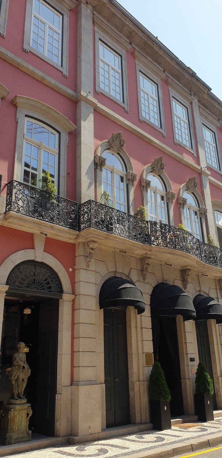 Entrada do Torel Palace Porto - Porto - Portugal © Viaje Comigo