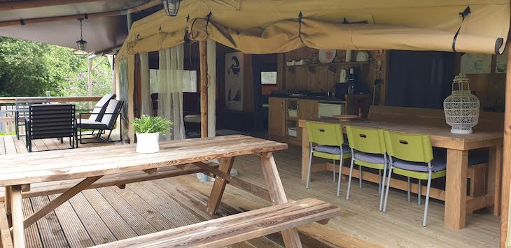 Tenda Ohashi da Quinta Japonesa - Caldas da Rainha - Portugal © Viaje Comigo