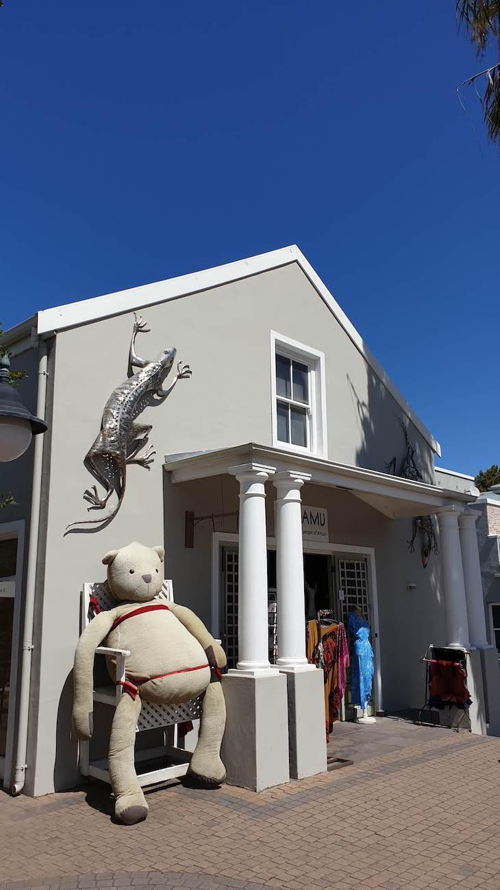 Lojas em Franschhoek - África do Sul © Viaje Comigo